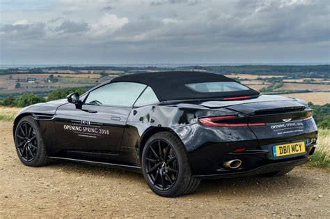 volante car aston martin db11 volante convertible coming in 2018