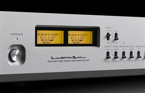 500 to meters luxman eq 500 phono stage on a higher note