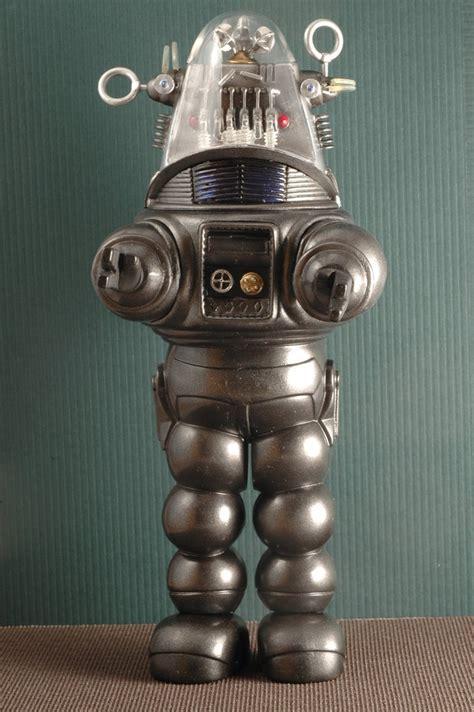 the genuine 7 foot robby the robot hammacher schlemmer the genuine 7 foot robby the robot hammacher schlemmer