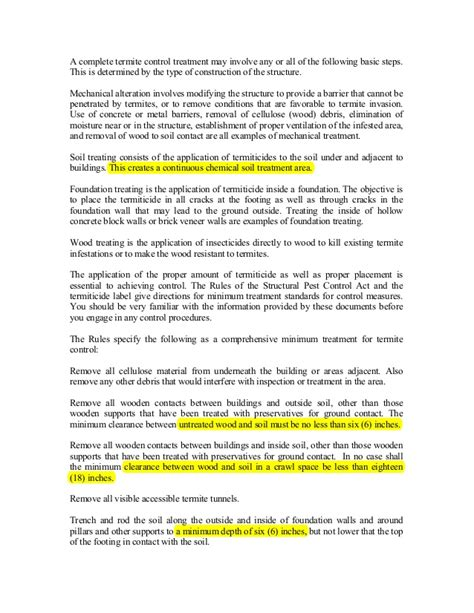 Pest Letter Template Pest Study Guide