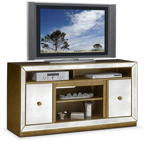 reflection tv stand mirror american signature furniture
