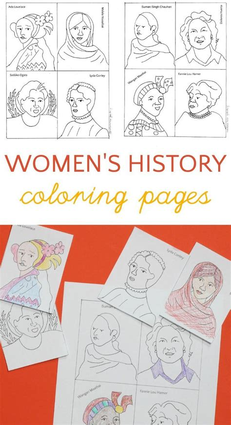 coloring pages for women s history month 446 best images about coloring pages printables on pinterest