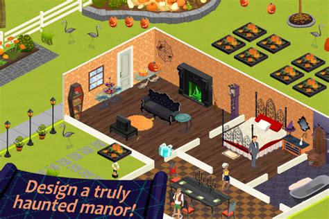 home design game by teamlava now introducing home design story halloween
