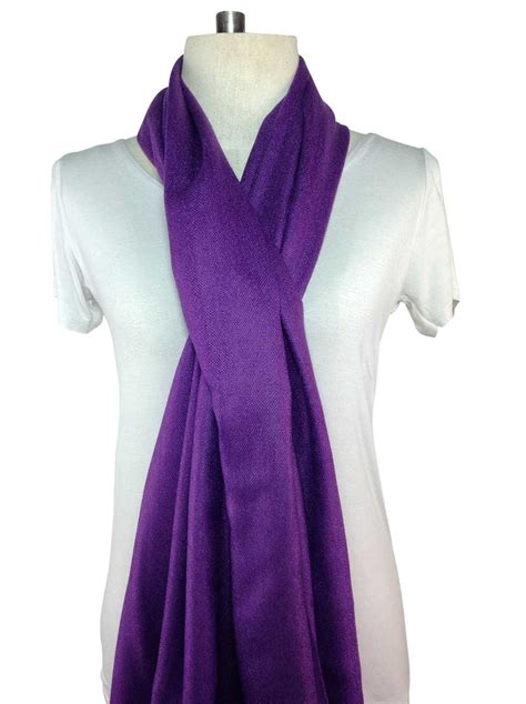 a special deal on a beautiful purple pashmina scarf