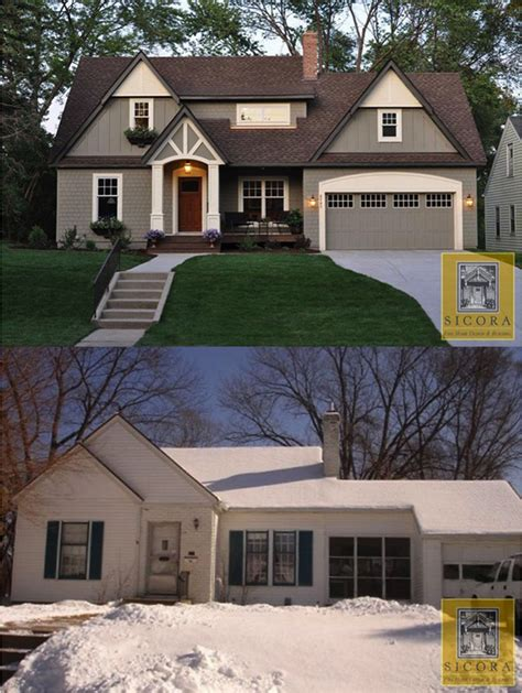 before and after home makeover home exterior homespree
