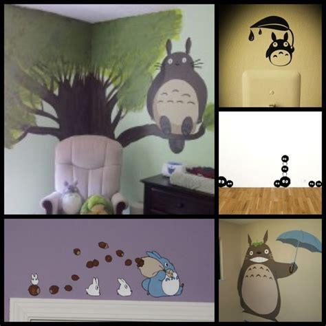 totoro wall sticker totoro nursery baby boy rooms