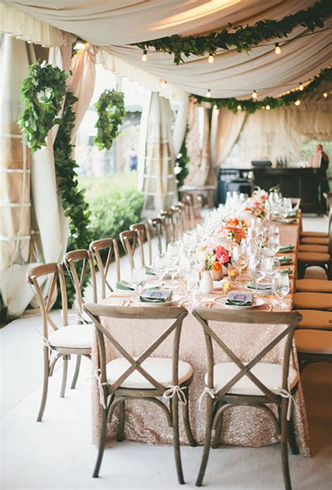 How To Decorate A Tent For A Wedding Reception by 15 Awesome Ideas To Make Your Wedding Tent Shine