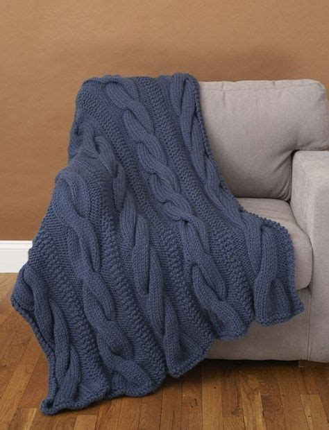 comfort blanket knitting pattern free knitting pattern for cable comfort throw afghan