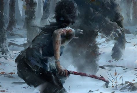 rise of the tomb raider details emerge pc gamer new details emerge for rise of the tomb raider just push