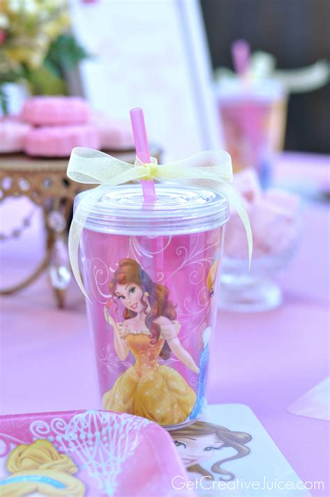 Princess Party Giveaways - disney princess party with belle part 2 creative juice