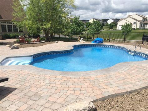 Liverpool Pool And Patio by Aspen Shape Swimming Pool In Ground Swimming Pools Built