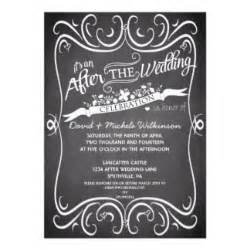 357 post wedding party invitations post wedding party announcements