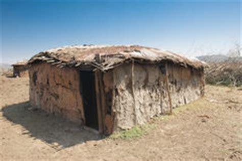 hutte masai maison traditionnelle de masai photographie stock image