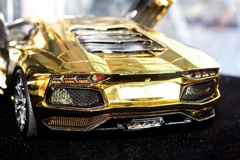 real gold cars 7 3 million gold lamborghini aventador awaits new buyer