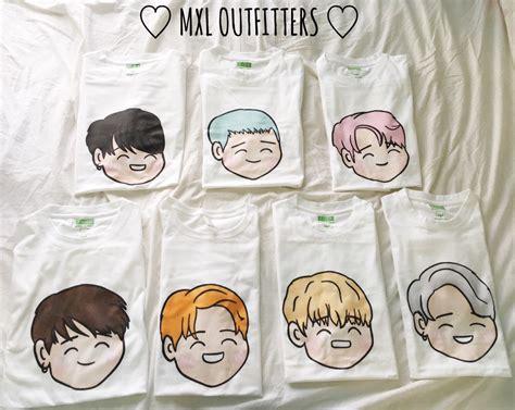 Kaos Tshirt Bts Wings bts wings t shirt design by sleepiest designs
