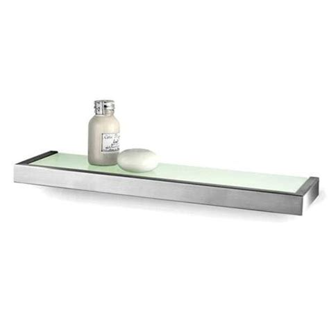Zack Linea 46 5cm Bathroom Shelf 40384 At Victorian Bathroom Shelves Uk