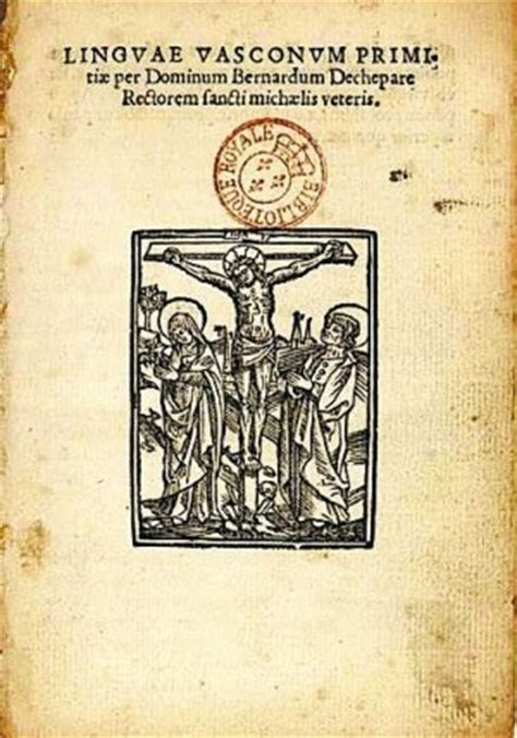 vasco libro el de los libros antiguos un libro raro en euskera
