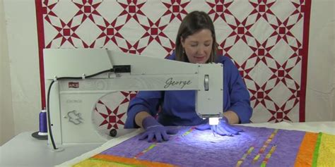 George Quilting Machine by And Learn About George Our Sit Quilting