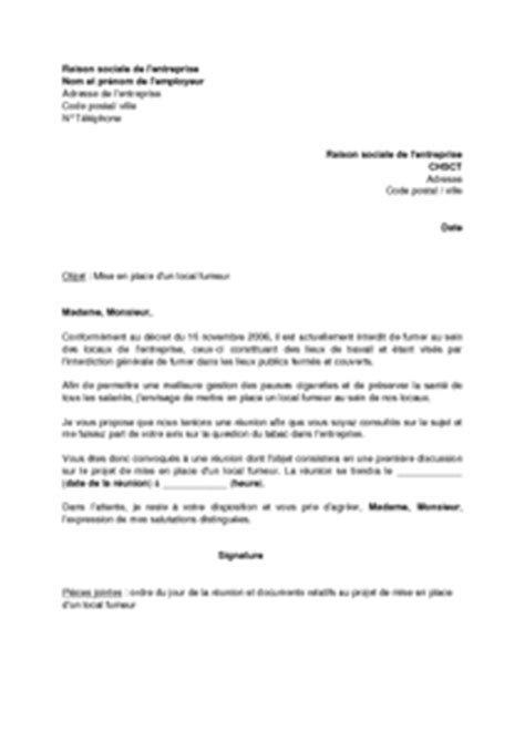 Exemple De Lettre De Démission Du Chsct Modele Lettre Candidature Membre Chsct