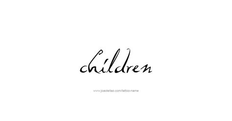 tattoo family names designs children family name designs tattoos with names