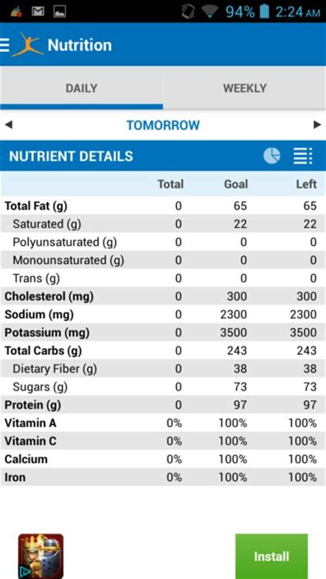 myfitnesspal android feature rich calorie counter app for android myfitnesspal