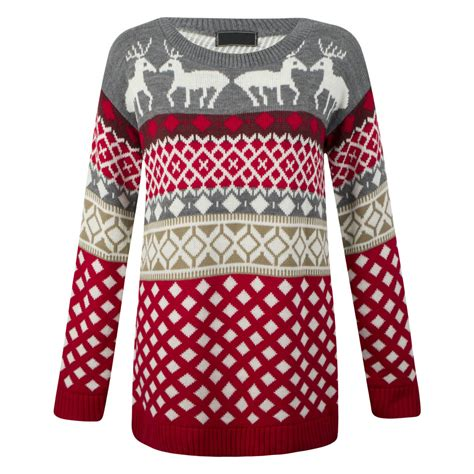 ladies womens vintage sweater olaf novelty knitted winter