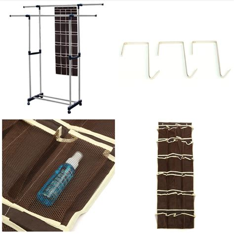 hanging storage bags 24 pockets 24 pockets layers lattice cell grid wall door hooks