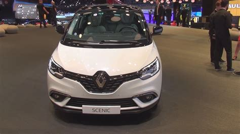 renault scenic 2017 white renault scenic edition one dci 160 edc 2017 exterior and