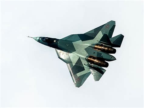 russias su57 stealth fighter already looks like a