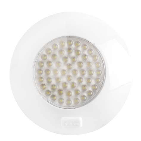 dome light fixture installation 5 5 quot round led dome light and door light fixture w switch