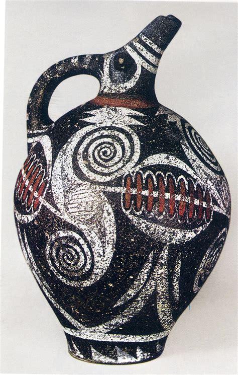 vasi micenei lo stile di kamares arte minoica