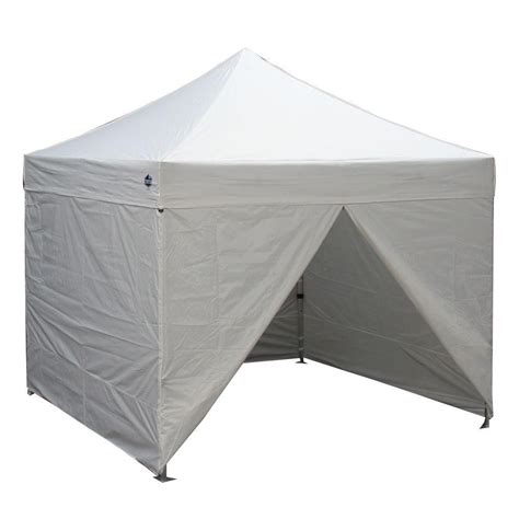 Enclosed Canopy Goliath Instant Canopy 10 X 10 Enclosed