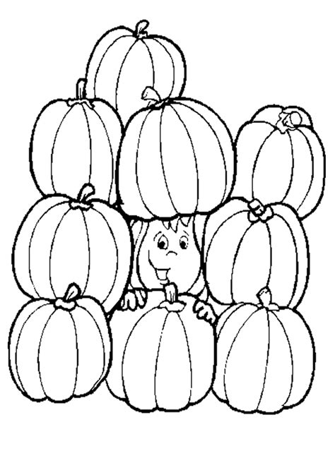 multiple pumpkin coloring pages pumpkin coloring pages printable az coloring pages