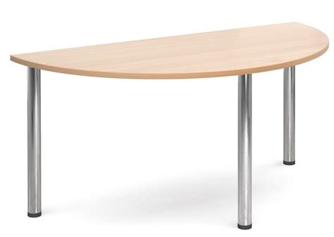 half office table gm deluxe half moon table office