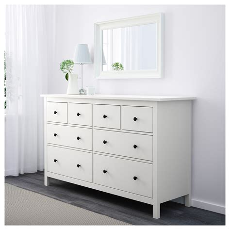 Ikea Commode Hemnes by Hemnes Chest Of 8 Drawers White 160 X 96 Cm Ikea
