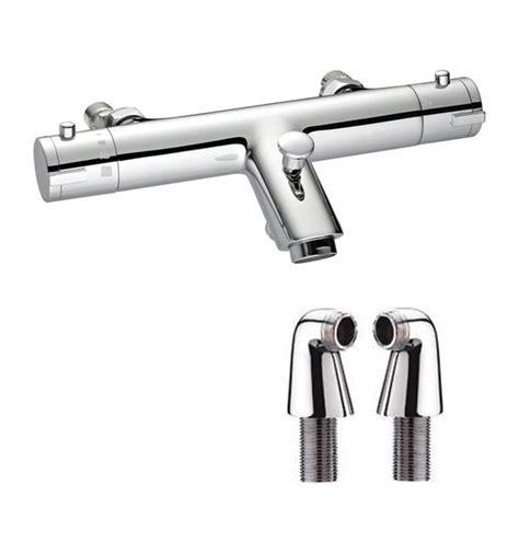 thermostatic bath shower mixer aqualla luca thermostatic bath shower mixer