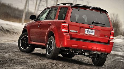 ford escape xlt sport awd review editors review