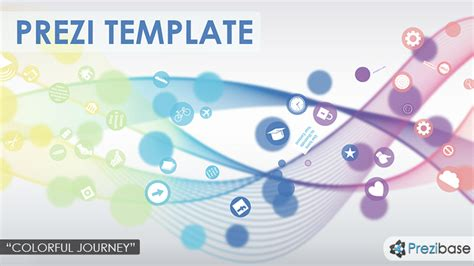 themes for prezi desktop colorful journey prezi template prezibase