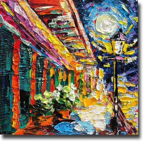 paint nite orleans new orleans painting b sasik original painting of new