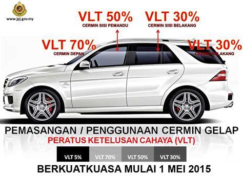 Peraturan Cermin Gelap Kereta peraturan baru cermin gelap tinted jpj mulai 1 mei 2015