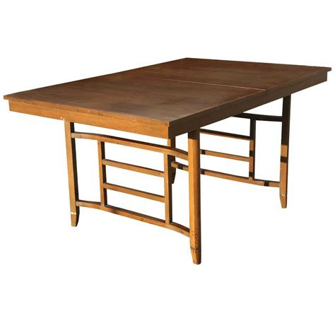 expanding table mechanism midcentury retro style modern architectural vintage