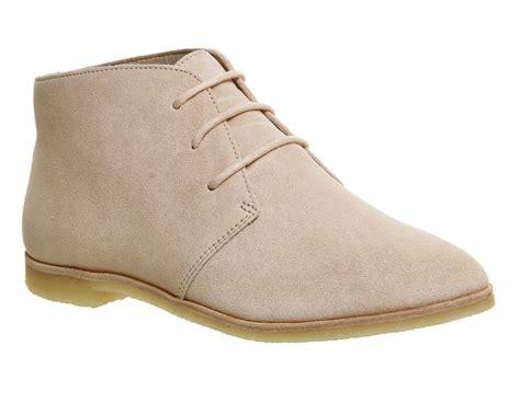 light pink suede boots womens clarks originals phenia desert boots light pink
