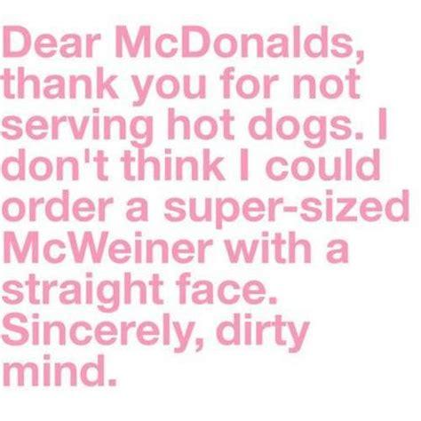 quotes funny mcdonalds quotesgram