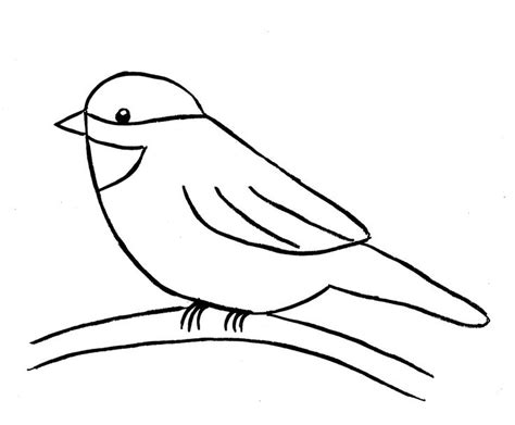 drawing easy best 25 simple bird drawing ideas on bird