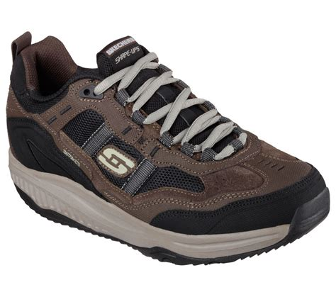 skechers comfort walkers 57501 brown skechers shoes shape ups new men memory foam