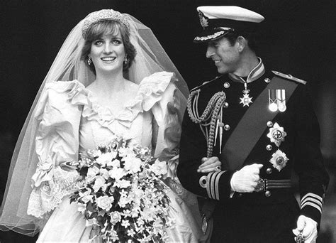 princess diana and charles 11 images from the iconic wedding of prince charles and