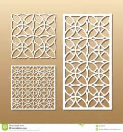 Muster Cut Geometric Laser Cutting Stock Vector Image Of Lace Pattern 87361626
