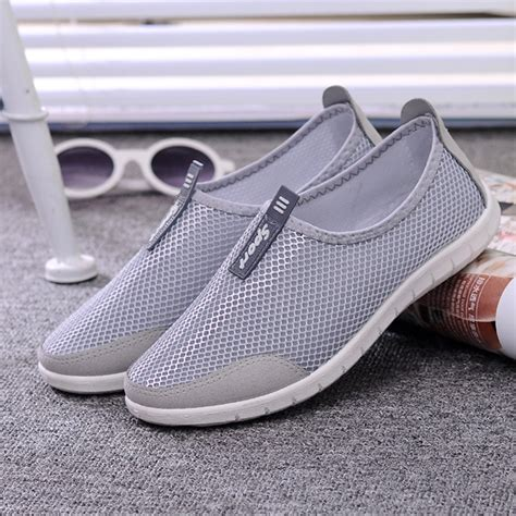 comfortable summer shoes ᑎ women breathable shoes casual air mesh mesh flats