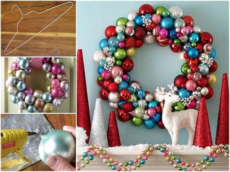 bauble wreath how to make bauble wreath pictures photos and images for