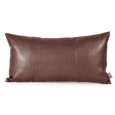 pillows for brown leather sofa leather sofa pillows leather mosaic design creamed and